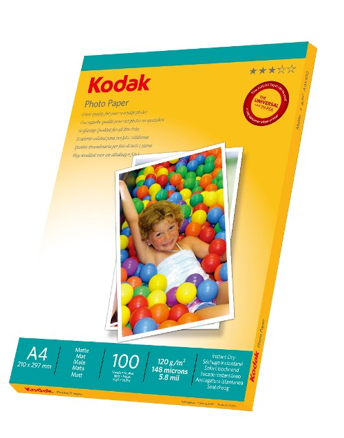 KODAK Photo Paper, Matte